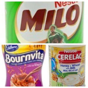 Cerelac / Milo / Bournvita