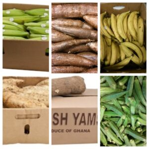 Frische Produkte, Exotische Gemüse