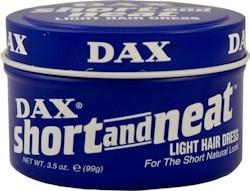 Dax Short & Neat Blue Tin 3.5 oz.