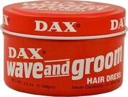 Dax Wave & Groom Red Tin 3.5 oz.