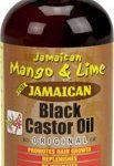 Jamaican M & L Black Castor Oil Original 4 oz.