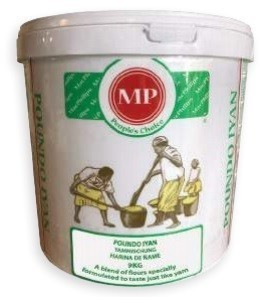 Pounded Yam MP Bucket 1 x 9 kg.