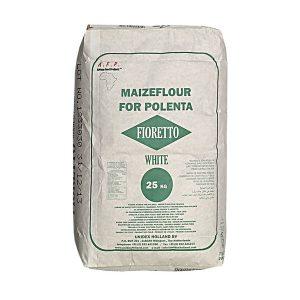 Fioretto White Maisflour 25 kg.