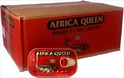Africa Queen Sardines In Oil Marocco  125 gr.