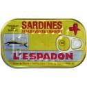 Sardines L'espadon Hot  125 gr.
