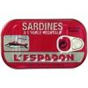 Sardines L'espadon In Oil  125 gr.