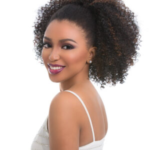Natural Big Afro Pony tail 18′