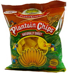 Plantain Chips Tropical Gourmet Sweet 20 x 85 gr. Sparpaket