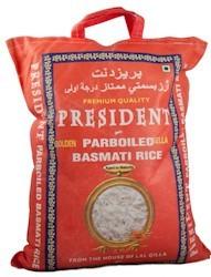 Rice Basmati White President 5 kg.