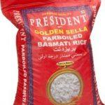 Rice Basmati White President 20 kg.