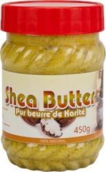 100% Pure Sheabutter, Beure de Karite circa 300g aus Ghana