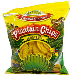 Plantain Chips Tropical Goumet Salted 85 gr.