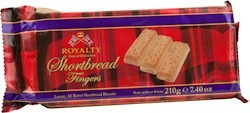 Shortbread All Butter Biscuits Royalty  200 gr.