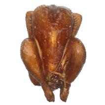 Hen Smoked Poule Fumée  +/- 1 kg.