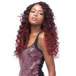 Human Hair Blend hair Weave Tresse CARIBBEAN WAVE Lenght 16′ 18′ 20′ + closure