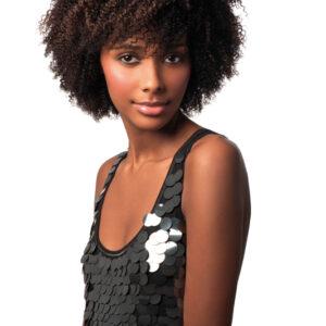 100% Echthaar Human Hair Extensions Tressen Afro Kinky Weave 3 Pcs Lenght 8′