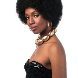 Kunsthaar Perücke Afro Wig Jumbo Afro WIG SYN Wig ( BIG AFRO )