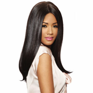 IMAN FASHION IDOL 101 PREMIUM   SYNTHETIC LACE PARTING WIG Hair by Sleek
