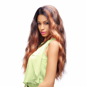 INDIA FASHION IDOL 101   SYNTHETIC LACE FRONT WIG Hair by sleek