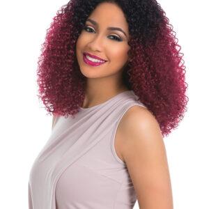 Kunsthaar Perücke Custom Lace Front Wig Kinky Curl Sensationnel
