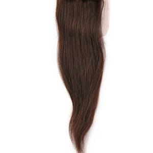 """100% Echthaar Virgin Brazilian Human Hair Closure Natural """"Straight"""""""