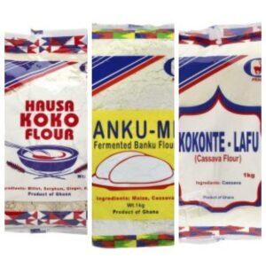 Bankumix / Tuo Zaafi / Hausa Koko/ Kenkey/ Kokonte