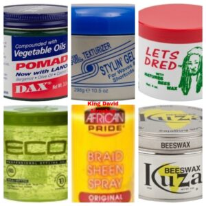 Gel / Wax / Style / Spray / Pomade