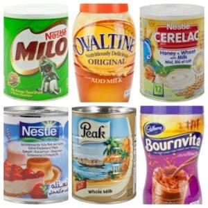 Milch / Kakao produktes