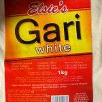 White Gari Elsie 1kg