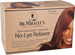 Dr. Miracle`s Relaxer Kit Regular.