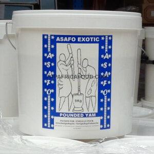ASAFO Pounded Yam 9kg