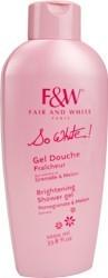 So White! F&W Brightening Shower Gel 1000 ml.
