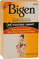 Bigen For Hair nr.59 Oriental Black