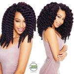 CROCHET BRAIDS| BOX BRAIDS | MAMBO SATIN TWIST | SYNTHETIC HAIR , 12 Stk, 30cm
