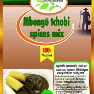 Mbongô tchobi spices mix 100g