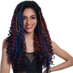 Cro Curl Locs Synthetic crochet Braid