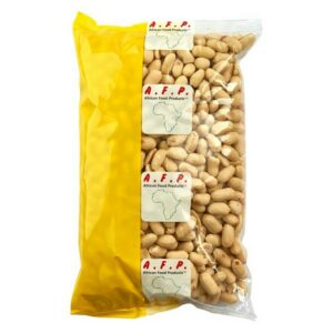 White peanut Arrachide Blanche du Ndole Unroasted Peanut Ungeröstete Erdnusse ohne Haut 800g