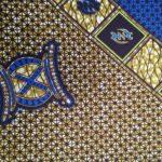 African Wax Print Textile Supreme Wax 6 Yard