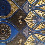 African Wax Print Textile Supreme Wax 6 Yards