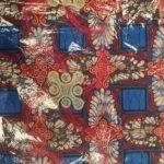 African Wax Print Textile Supreme Lace Wax 6 Yard