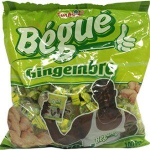 Candies Bégué Ginger Bonbon Bégué Gingenbre  100 gr.