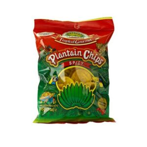 Plantain Chips Tropical Gourmet Spicy 20 x 85 gr. Sparpaket