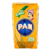 Pan Yellow Maisflour – Orange Pack 10 x 1 kg. Sparpaket