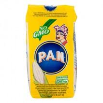 Pan White Maisflour – Yellow Pack 10 x 1 kg. Sparpaket