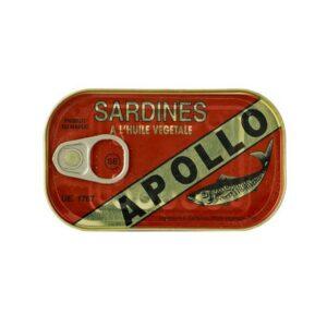 50 x 125 gr. Apollo Sardines in Oil Sparpaket
