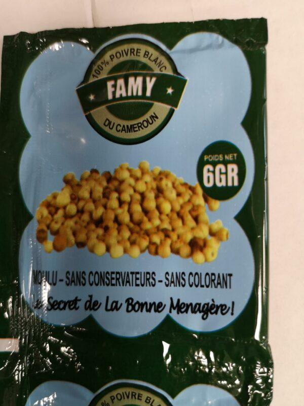 King David Afroshop - Foods & Hair - Famy Poivre Blan