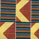 African Wax Afrikanischer Wax-Stoff Print Dekostof Kente 6Yard