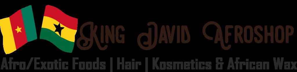 King David Afroshop - Foods & Hair - Logo Header Startseite