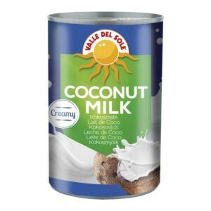 Coconut Milk  Valle Del Sole 400g