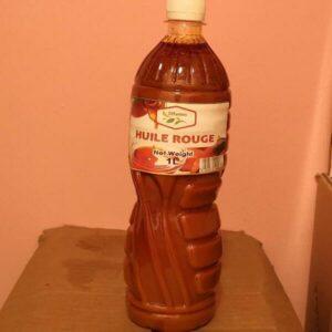 Huile Rouge du Cameroun  100% Natural 1L